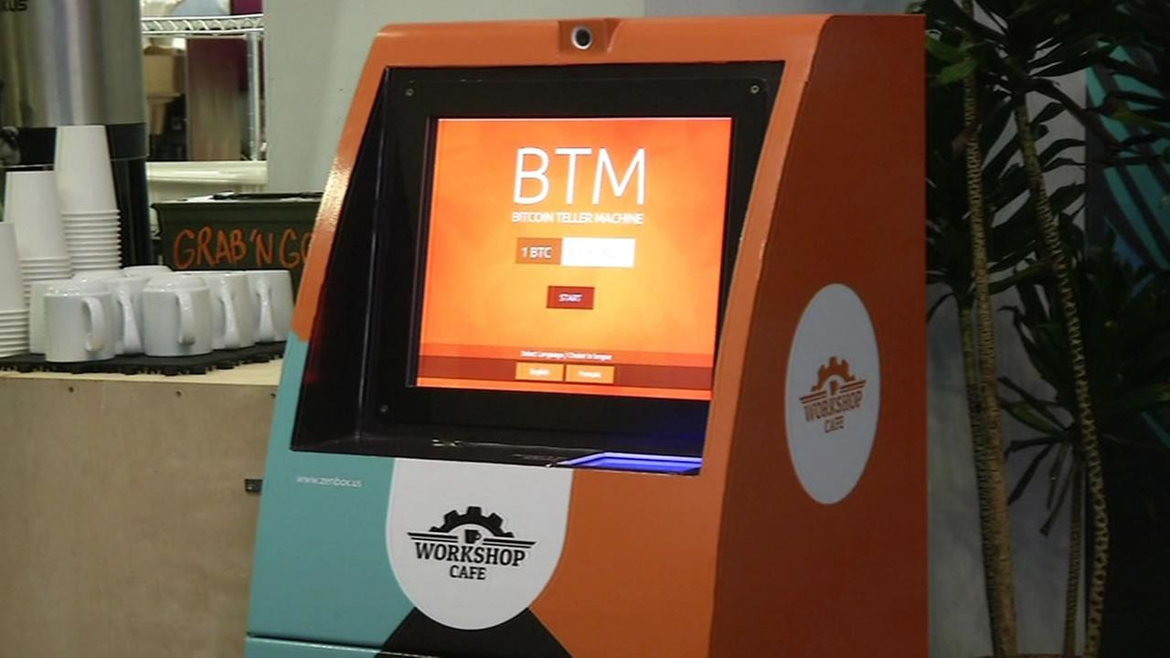 Bitcoin machine in San Francisco.