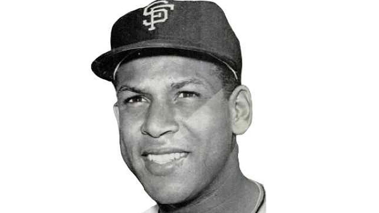 Former San Francisco Giant Orlando Cepeda appears in 1962.