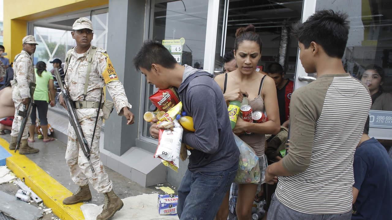 military to help evacuate tourists