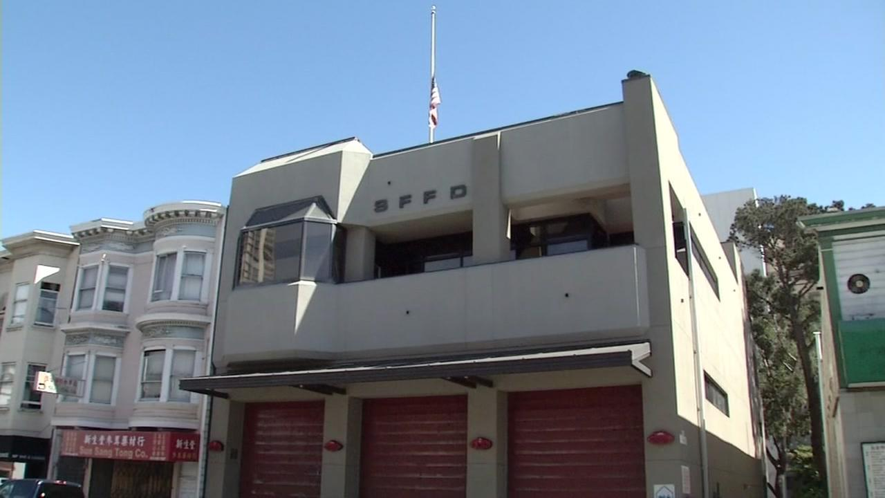 This undated image shows Francisco Fire Departments Station Two.