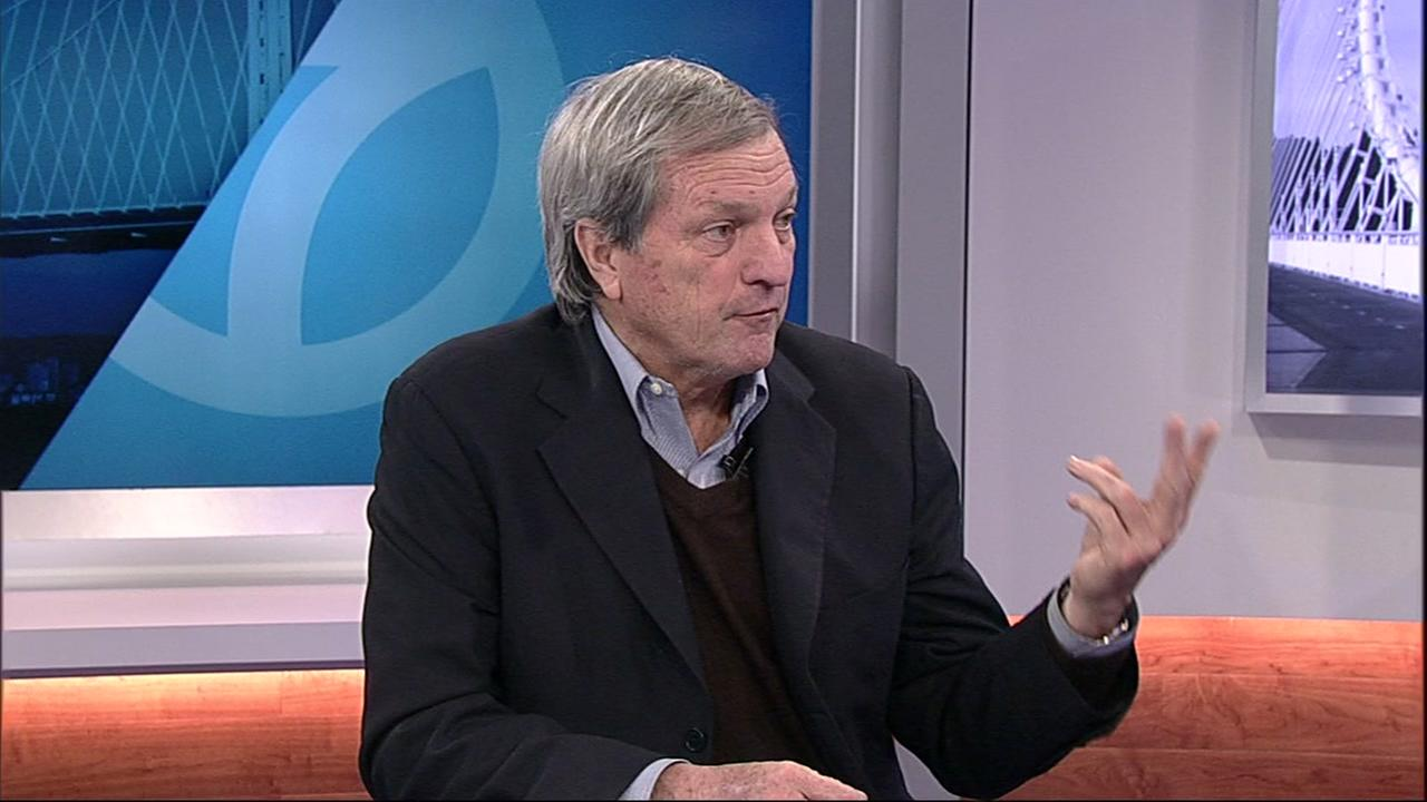 Congressman Mark DeSaulnier speaks with ABC7 News on Friday, Feb. 23, 2018 in San Francisco.