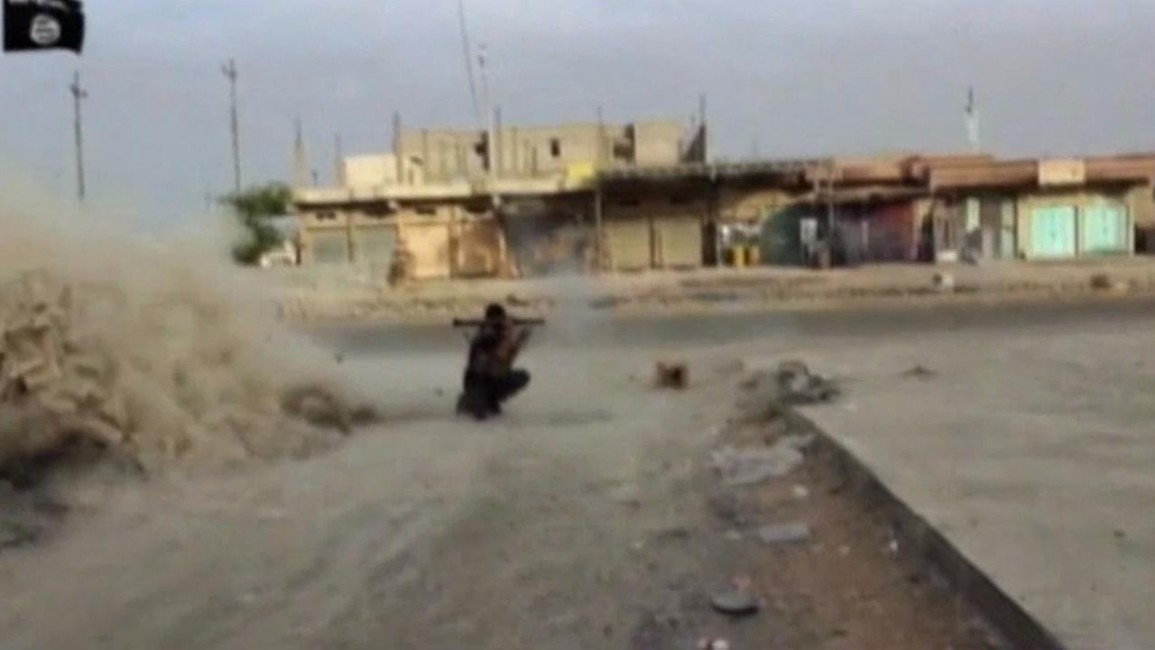 Isis rebels