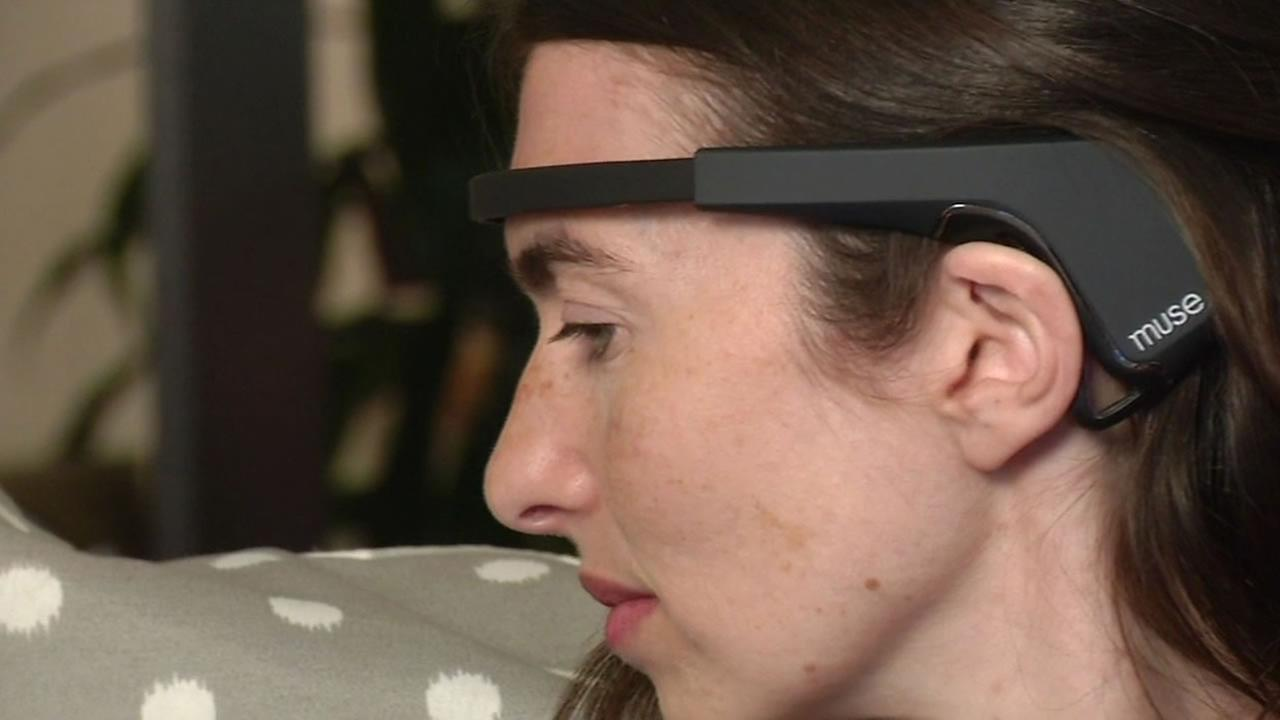 Muse, the hi-tech wearable headband.