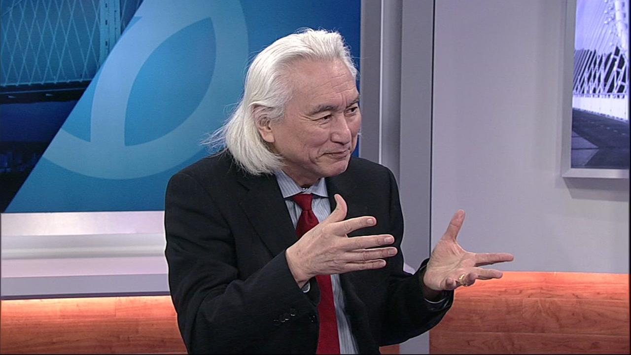 Renowned futurist Michio Kaku, author of the best-selling book The Future of Humanity, sat down with ABC7 News on Monday, March 5, 2018 in San Francisco.