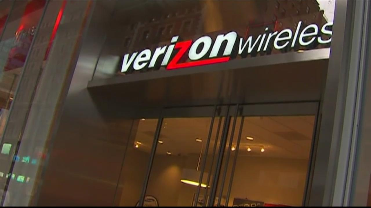 A Verizon store is pictured in this undated file photo.