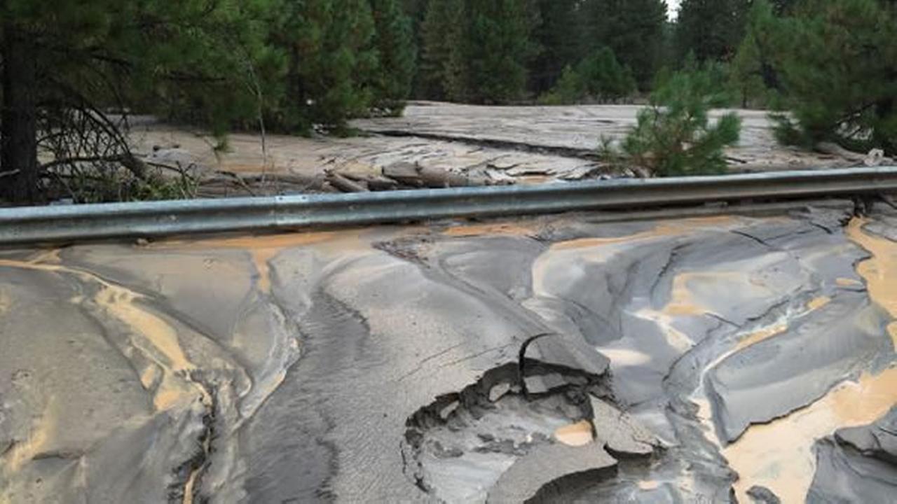Mt. Shasta mudslide
