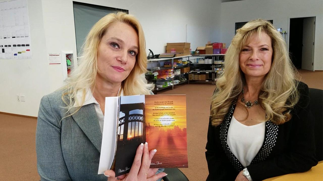 Hope Rises is a book of poems and pictures created by two Santa Rosa women to help the victims of the North Bay firestorm overcome their grief.