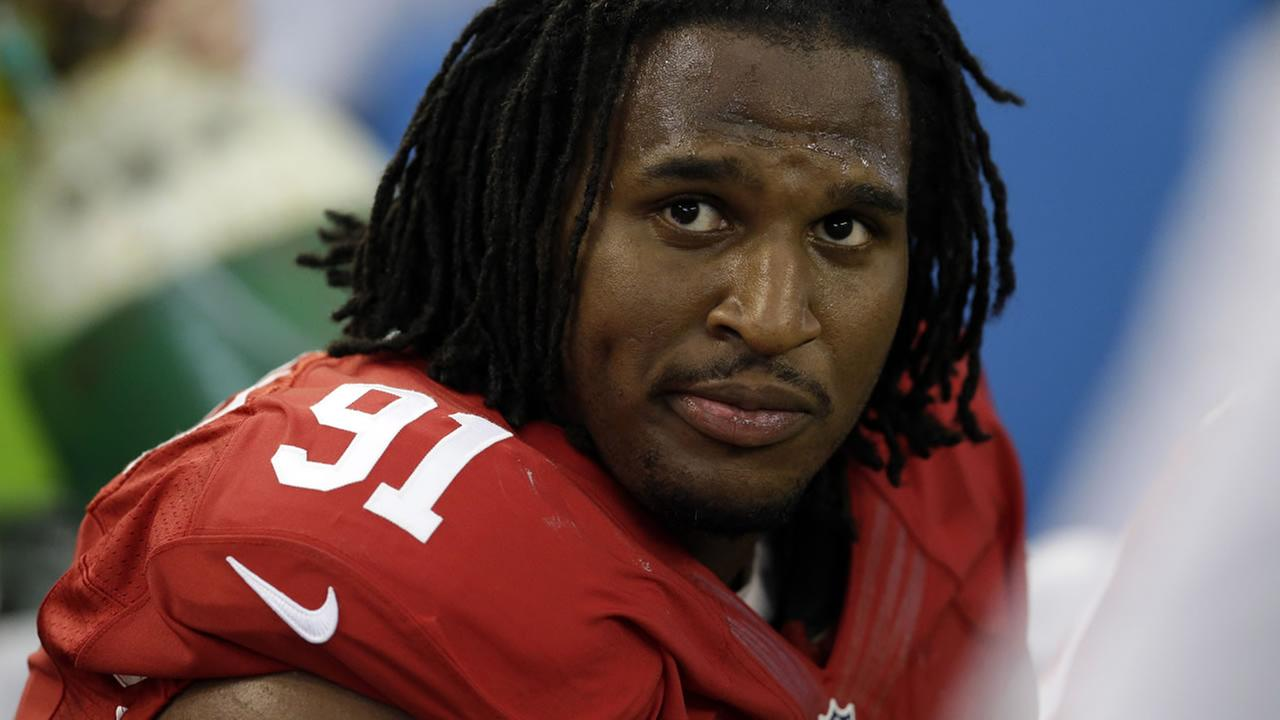 San Francisco 49ers defensive end Ray McDonald