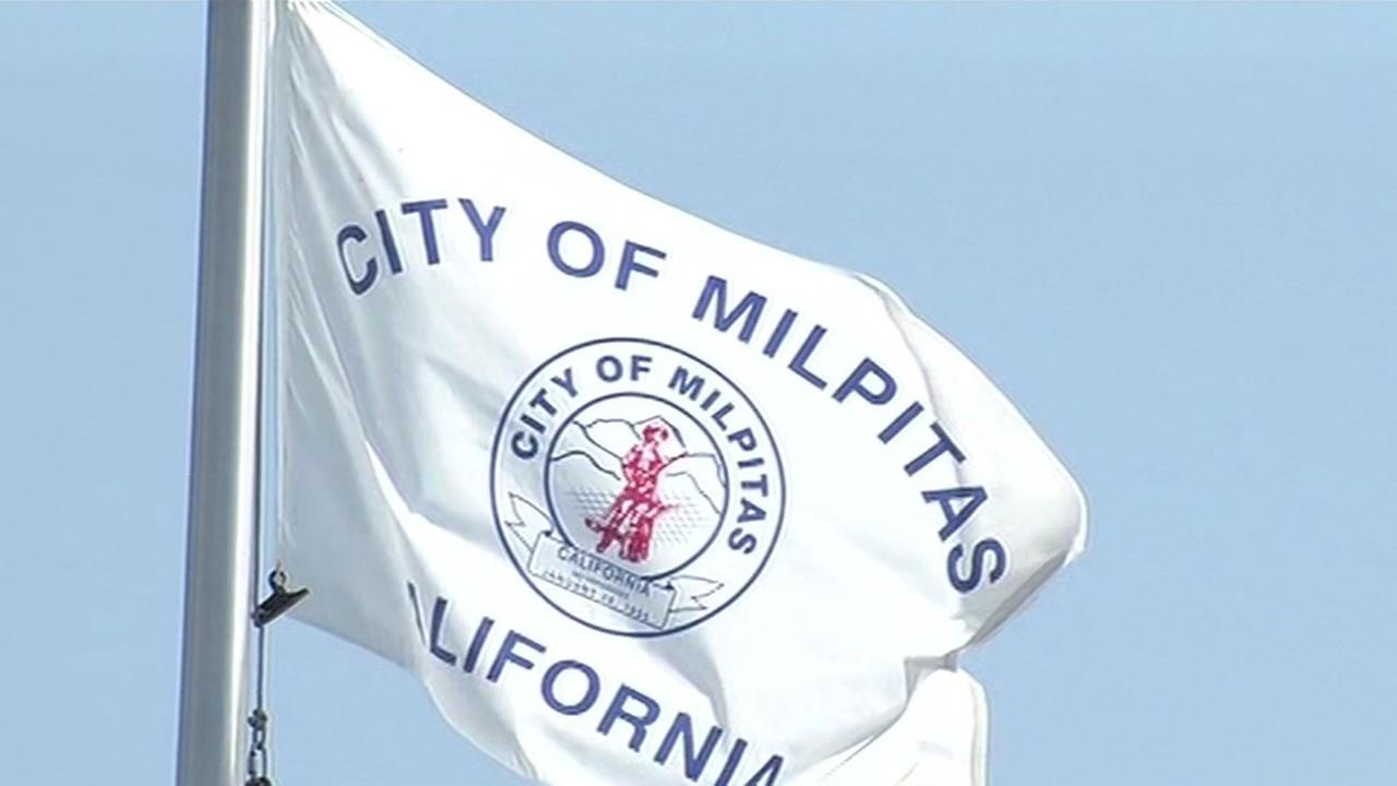 Milpitas city flag.