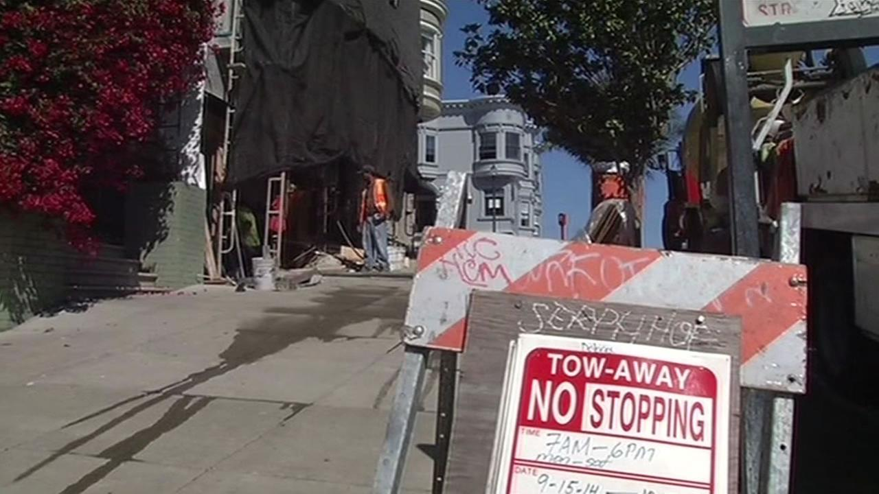 numerous city-wide construction projects are frustrating San Francisco residents