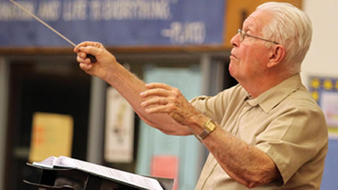 A living legend in the Bay Area classical music community has announced he is retiring. Art Barnes has conducted the Livermore-Amador Symphony for 50 years.