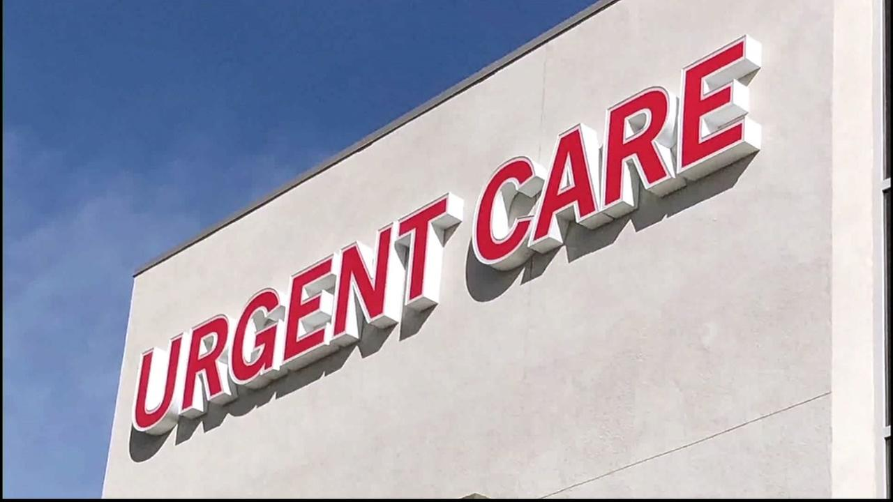 An urgent care center is pictured in this undated file photo.