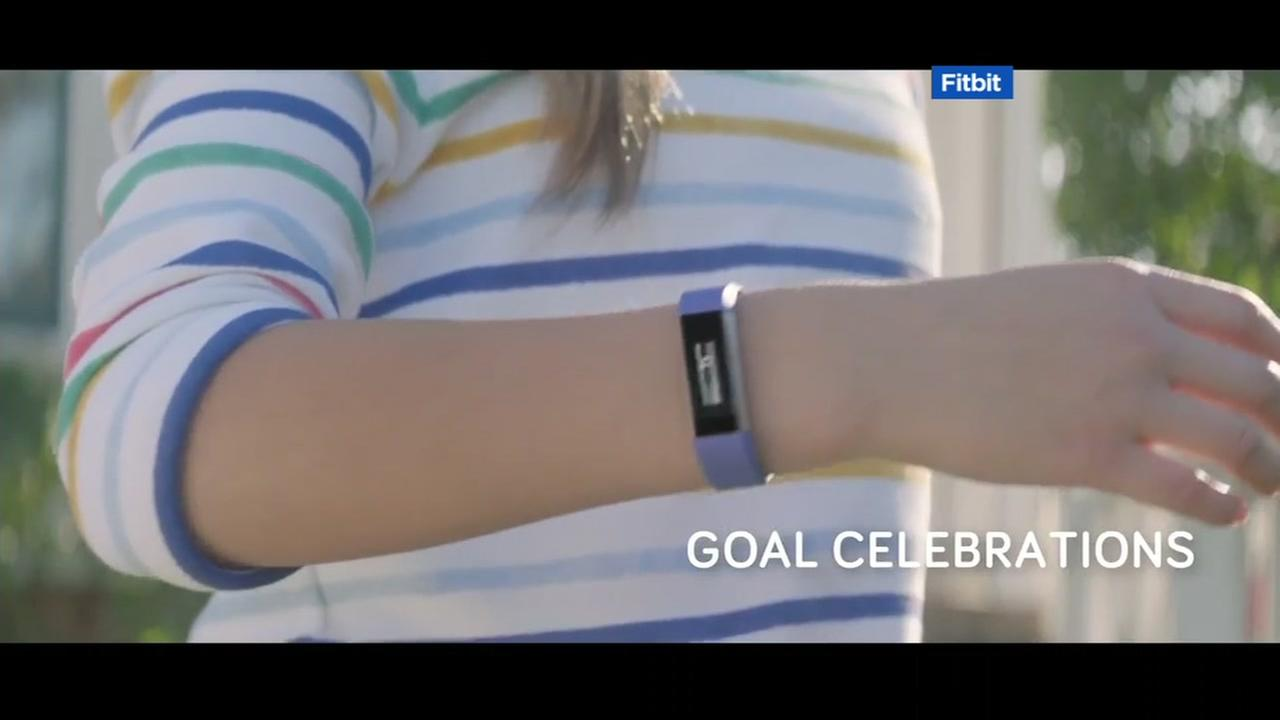 This still photo is from an advertisement released by Fitbit.