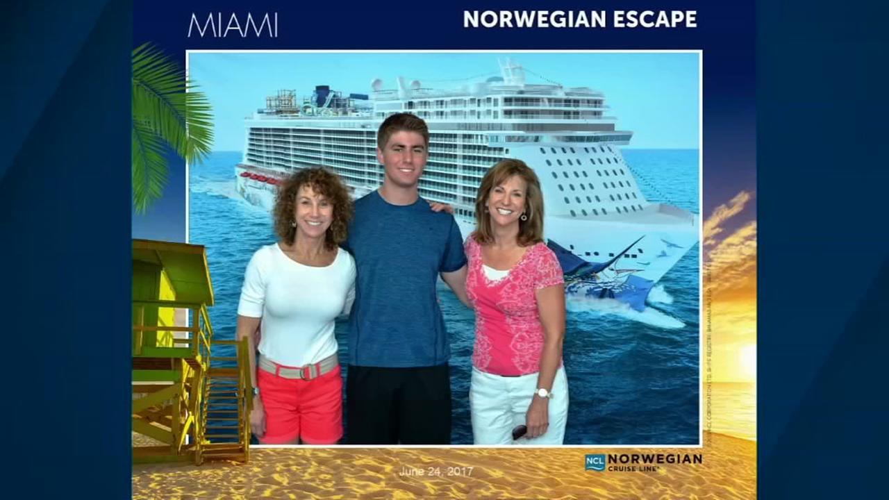 The Lloyds have shared this vacation photo from their cruise.