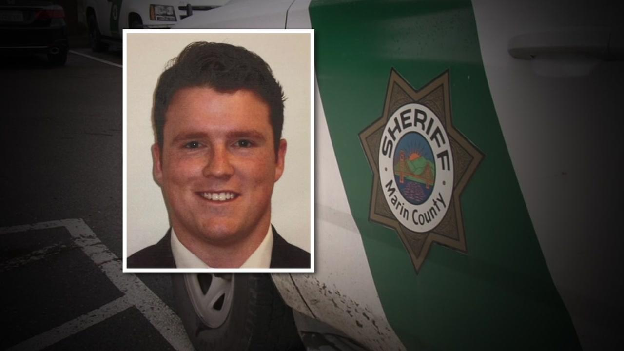 Deputy Ryan Zirkle is pictured in this photo provided by the Marin County Sheriffs Department.