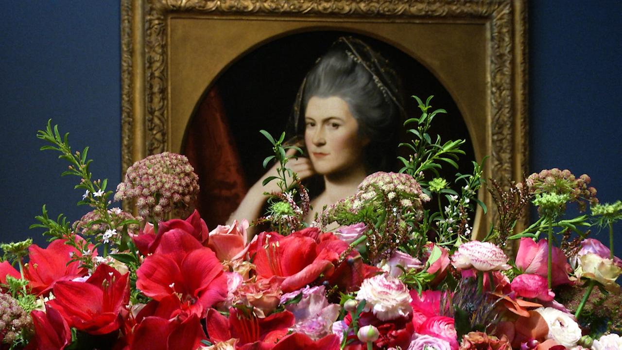 Bouquets to Art is back for its 34th year at San Franciscos de Young Museum. 120 floral designers created special arrangements this year.