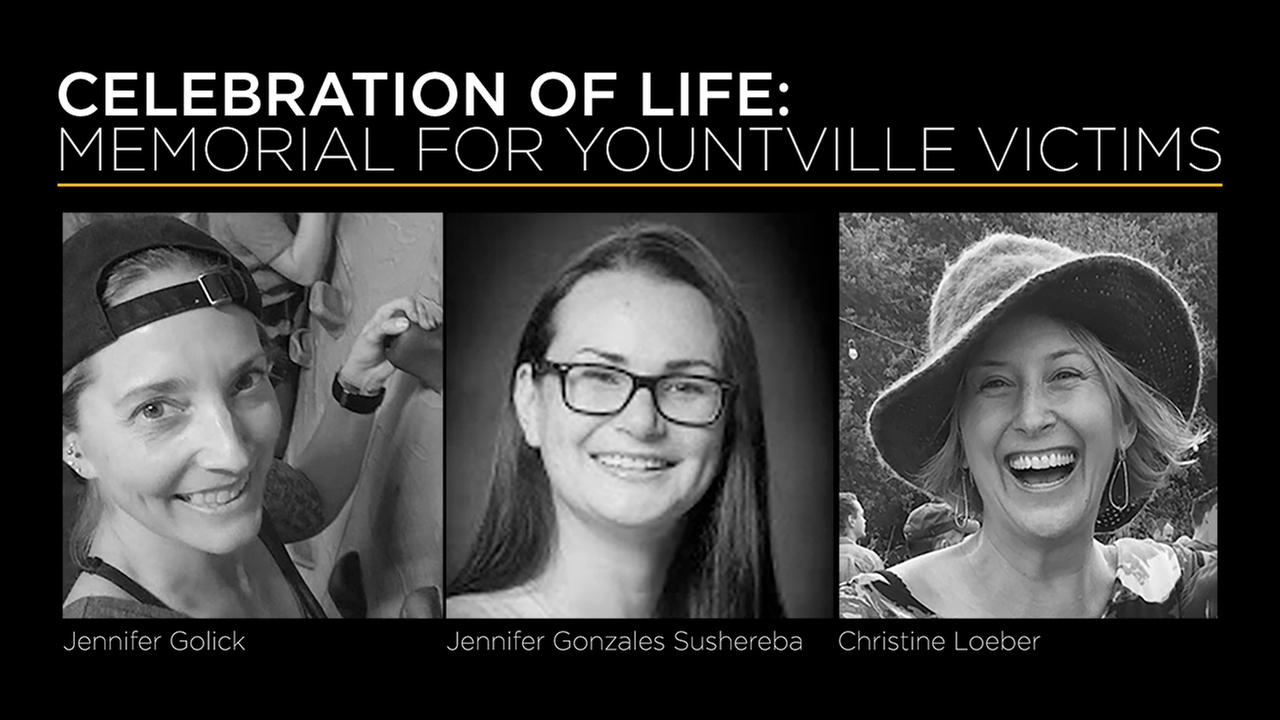 WATCH LIVE: Memorial for Yountville shooting victims