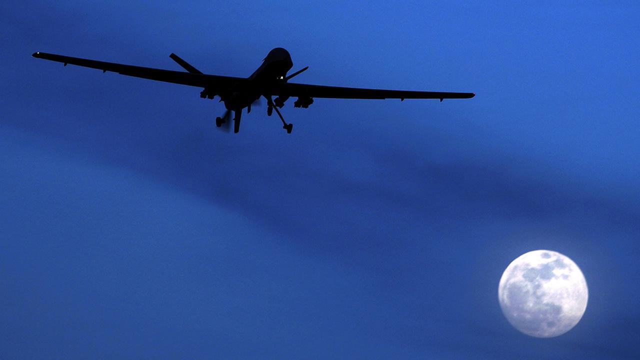 drones overhead