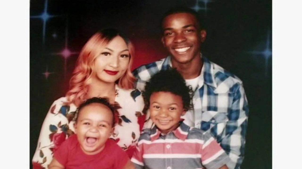 Stephon Clark and his family appear in this undated image.