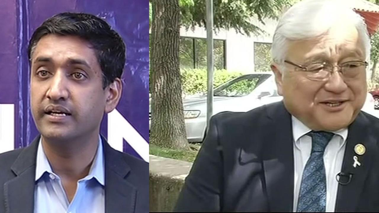 Ro Khanna and Mike Honda