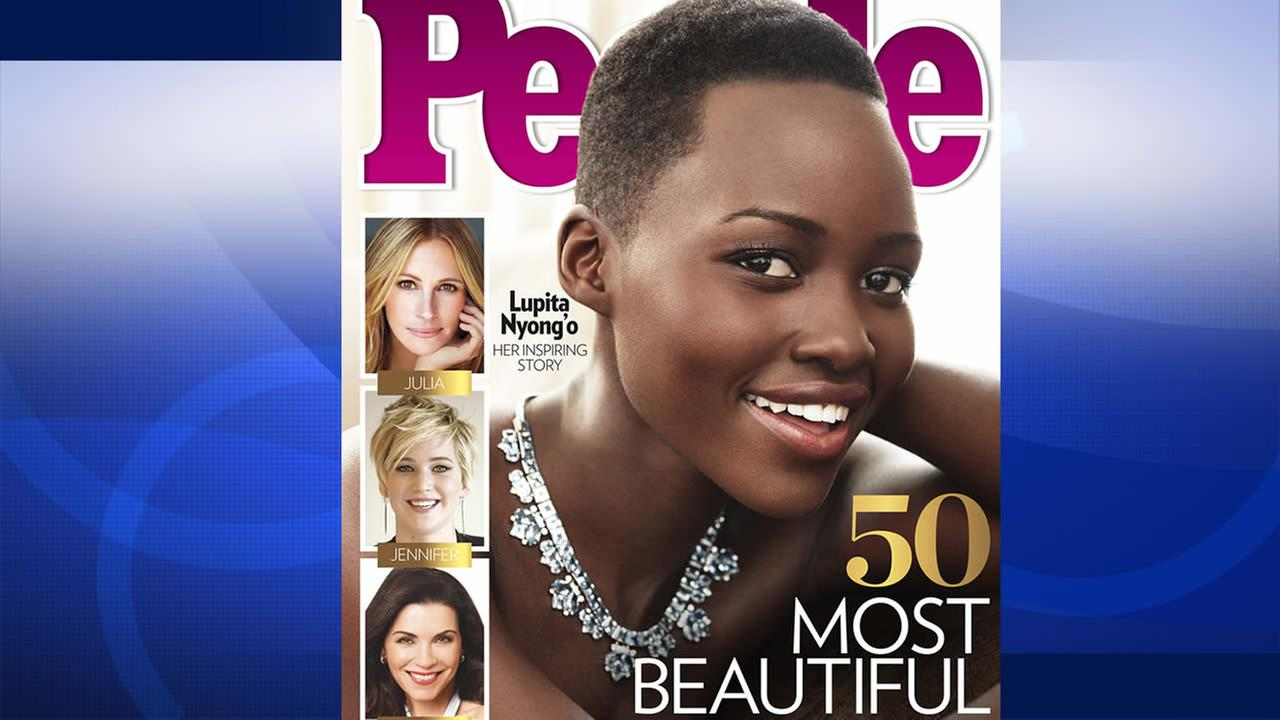 Actress Lupita Nyong'o named People's 'Most Beautiful'