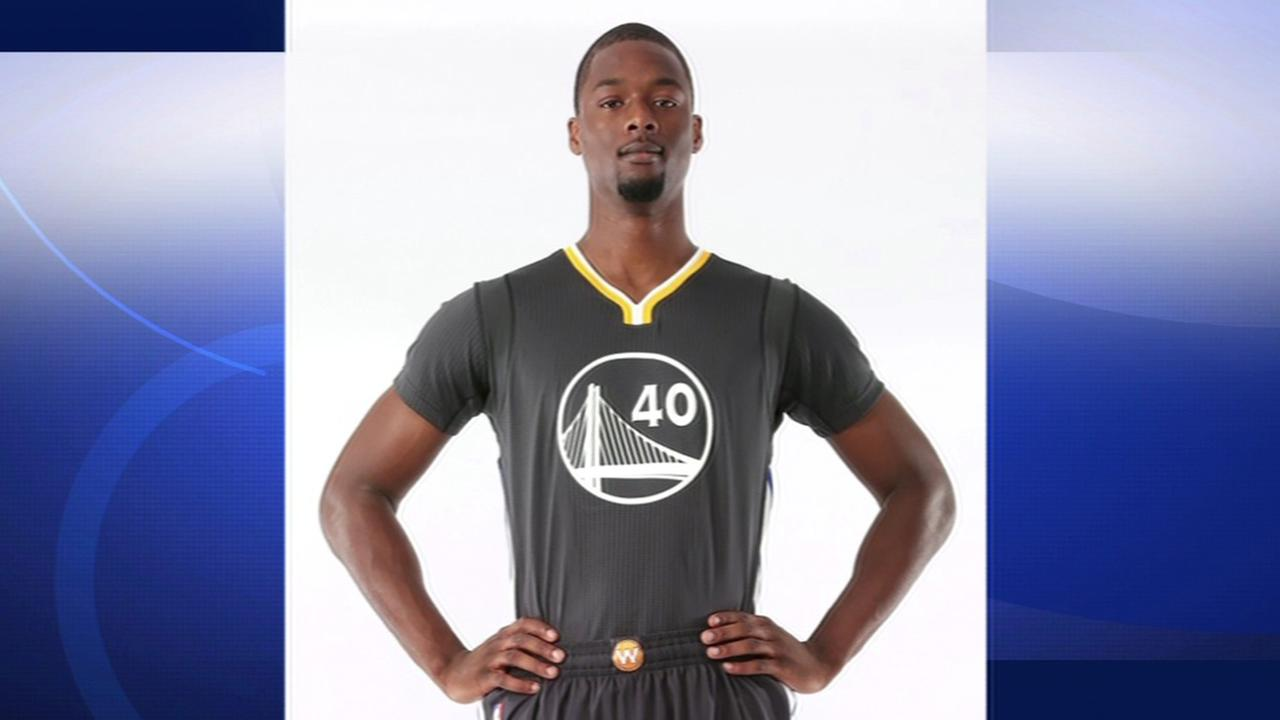 New Golden State Warriors uniforms.