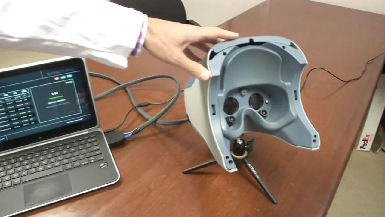 Stanford device tests for concussion
