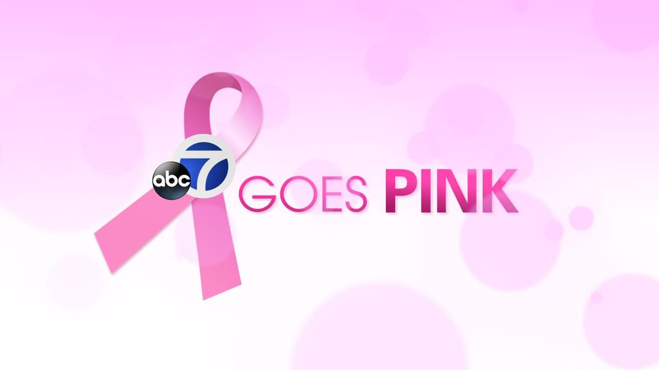 breast cancer awareness month ABC7 goes pink