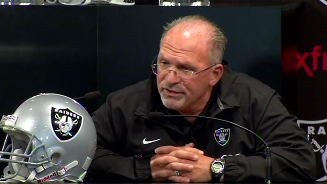 Oakland Raiders Tony Sparano.