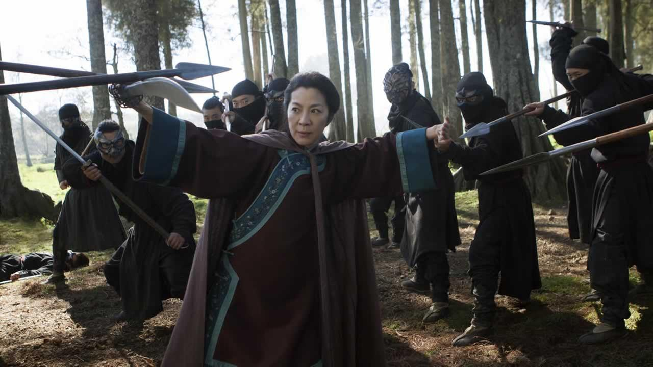 Crouching Tiger, Hidden Dragon: The Green Legend, will premiere on Netflix and in selected global IMAX theaters on Aug. 28, 2015.(AP Photo/Netflix, Rico Torres)