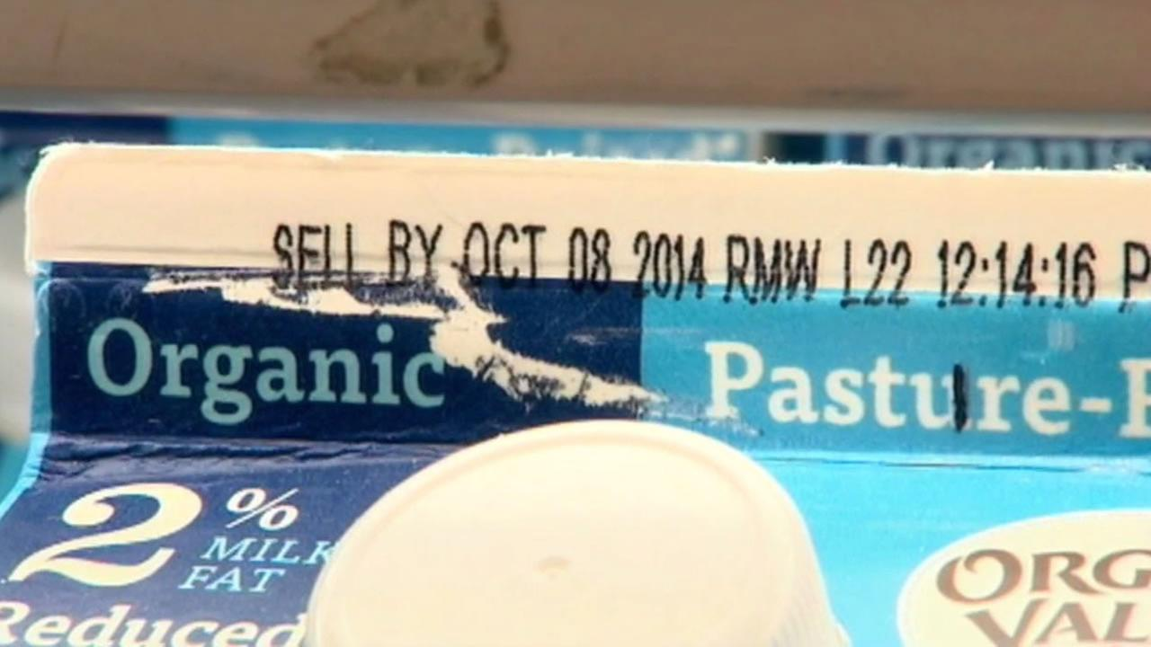 Sell-by dates tell you the last day the food is at its highest quality.