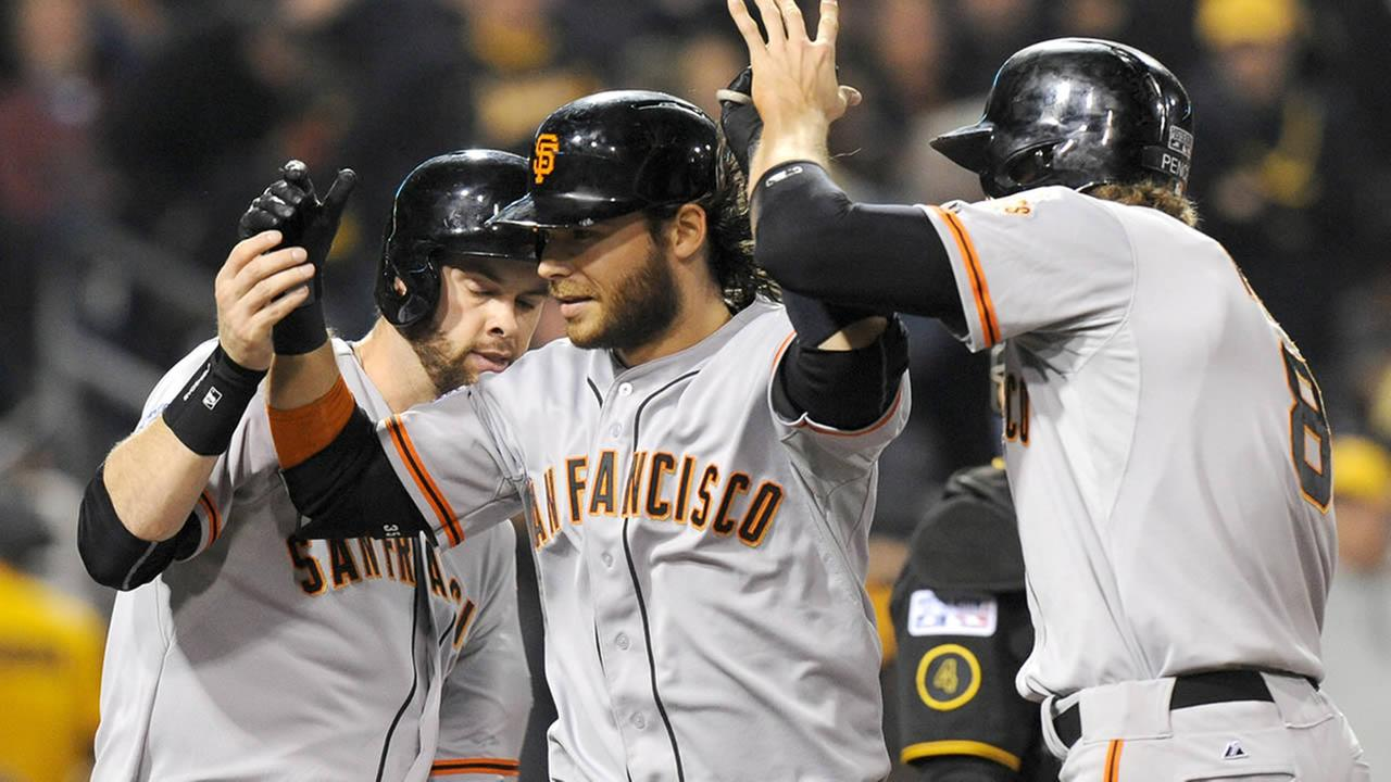 San Francisco Giants Brandon Crawford
