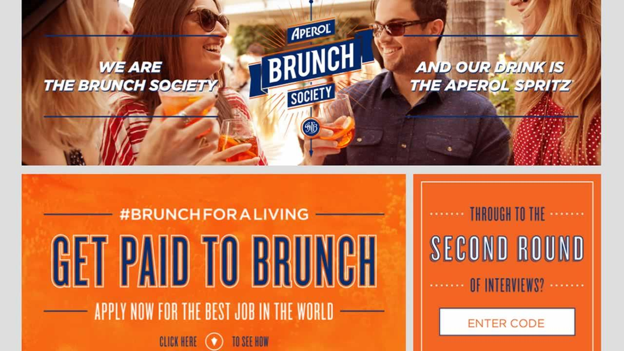 Theres an interesting job opportunity in San Francisco -- an alcohol company is in search of a professional bruncher.