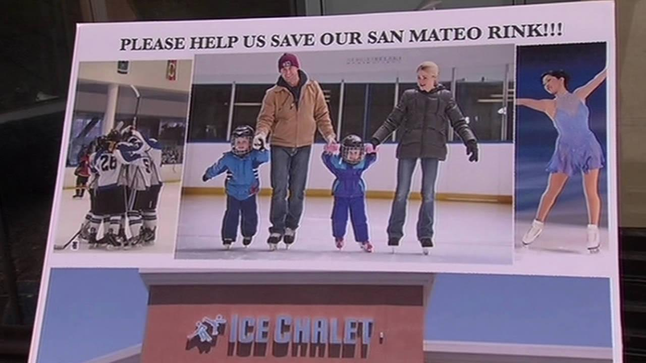 Supporters of San Mateos only ice skating rink are ready to do battle.