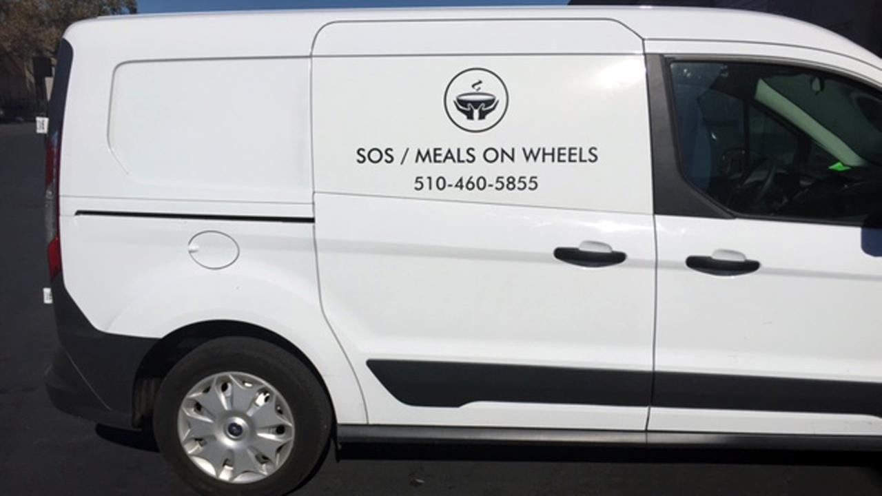 Meals on Wheels van