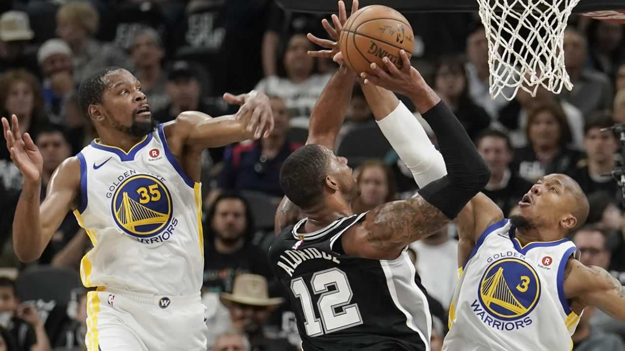Spurs beat Warriors 103-90 to avoid sweep in Game 4
