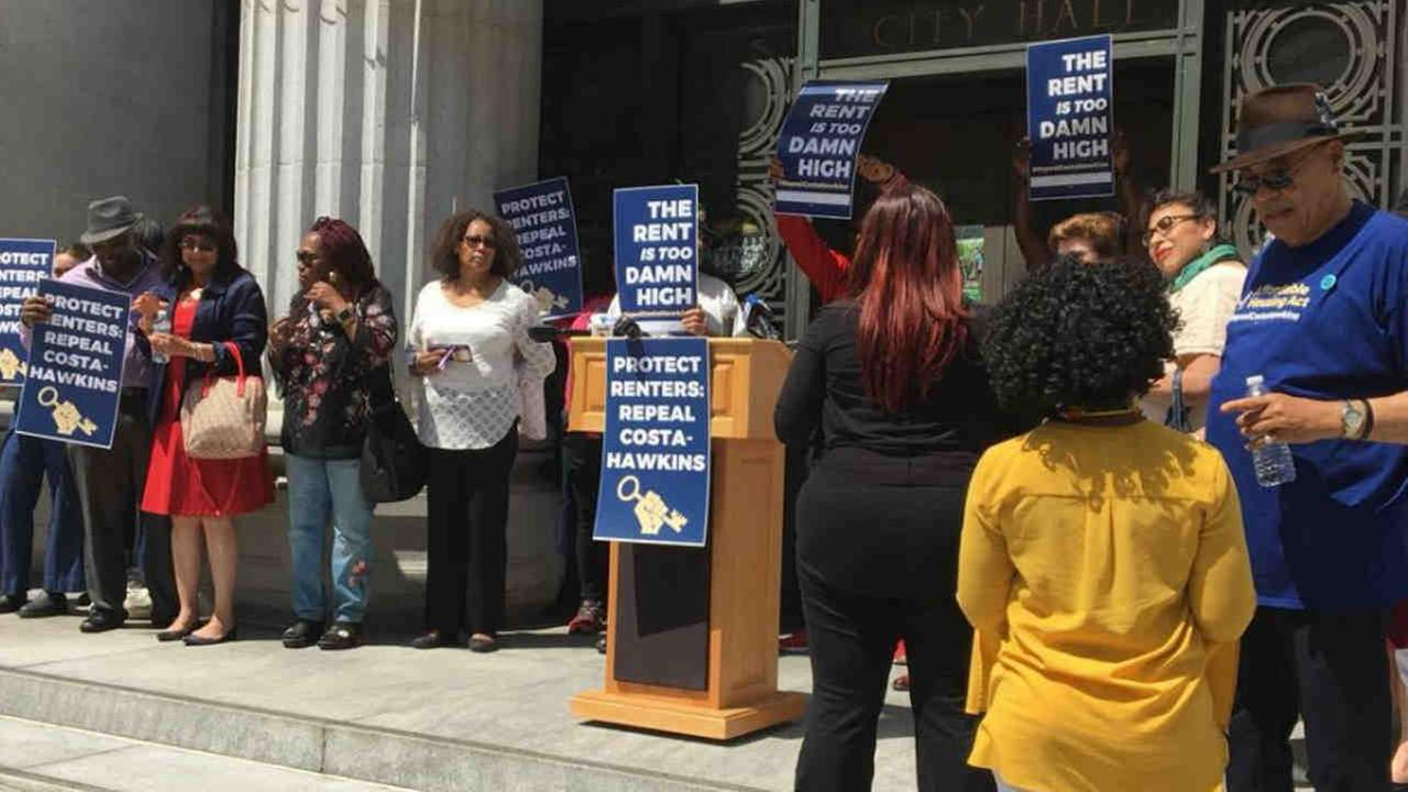 Oakland Rally Calls For Repeal Of Rent Control Limits