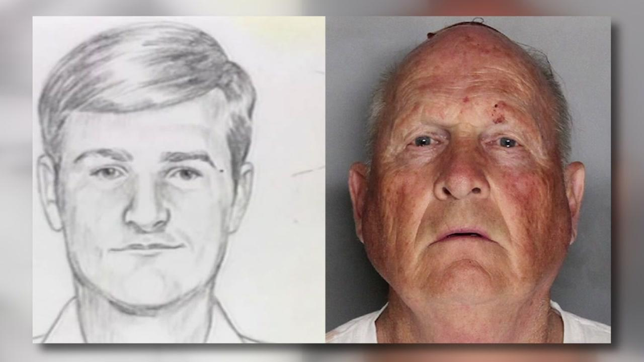 The suspected Golden State Killer Joseph James DeAngelo appears in this mugshot from Wednesday, April 25, 2018.
