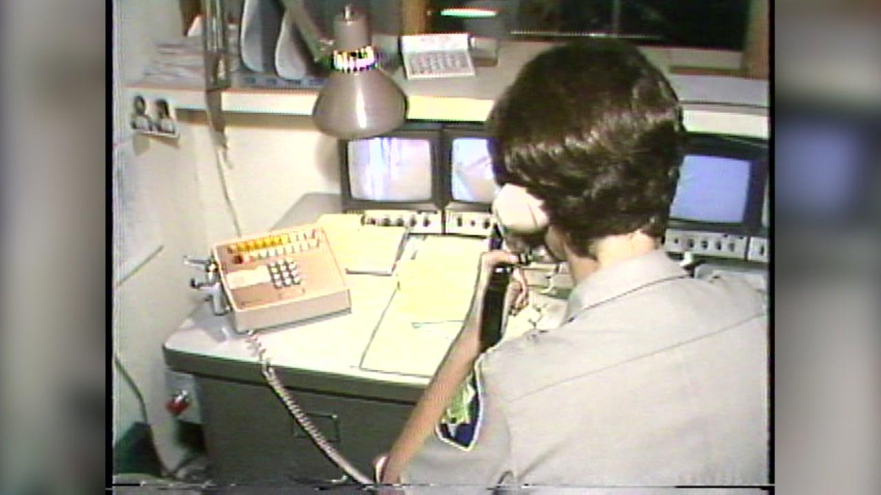 A dispatcher works on the investigation into the Golden State Killer in Concord, Calif. in 1978.
