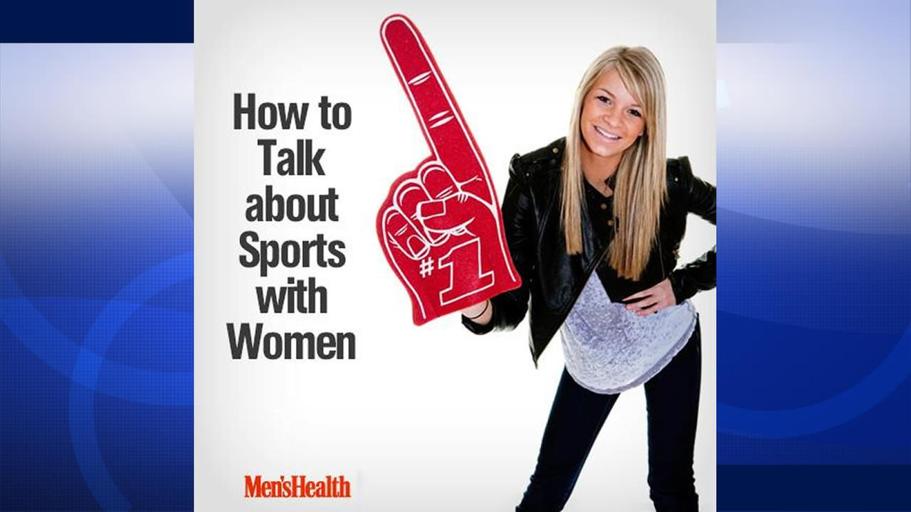 Mens Health Magazine article called How to Talk About Sports with Women.