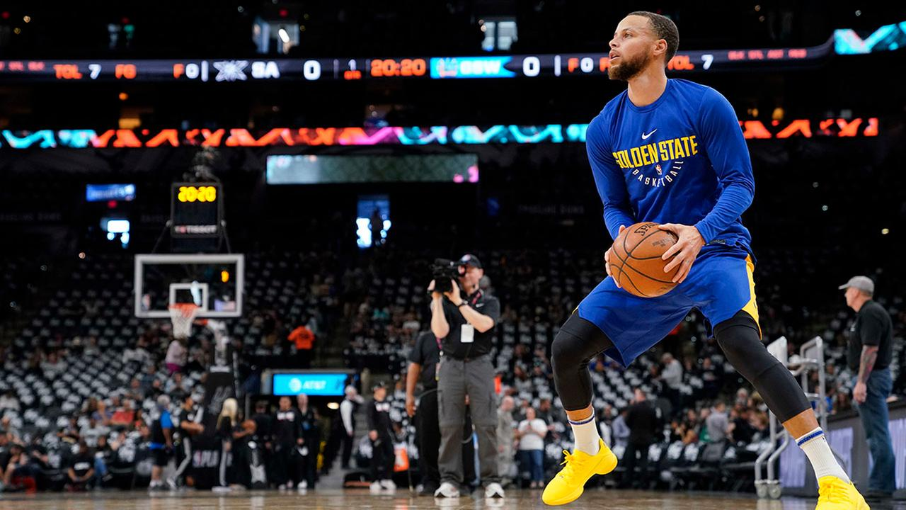 Steph Curry could be on minutes restriction when he returns