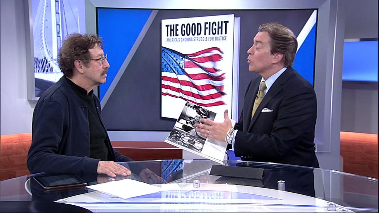 Photographer and CEO of Against All Odds Productions, Rick Smolan, spoke to ABC7 on Monday about compiling The Good Fight.
