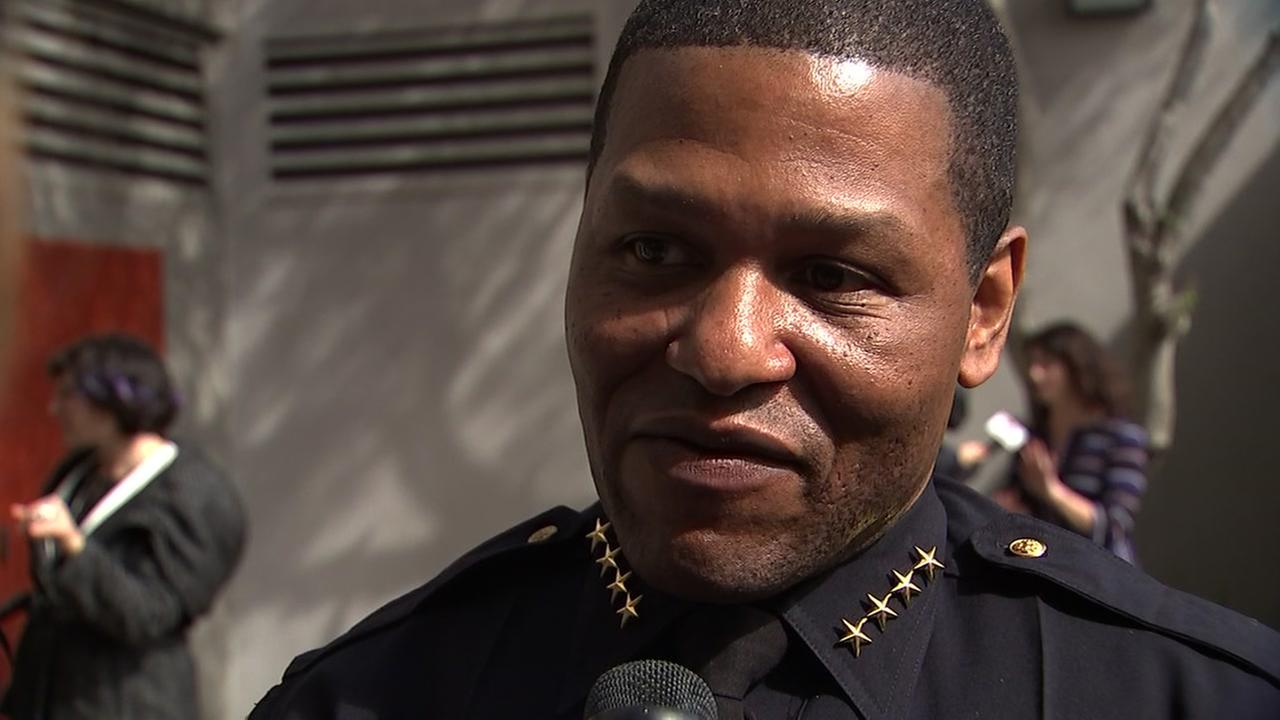 This is an undated image of SFPD Chief William Scott.