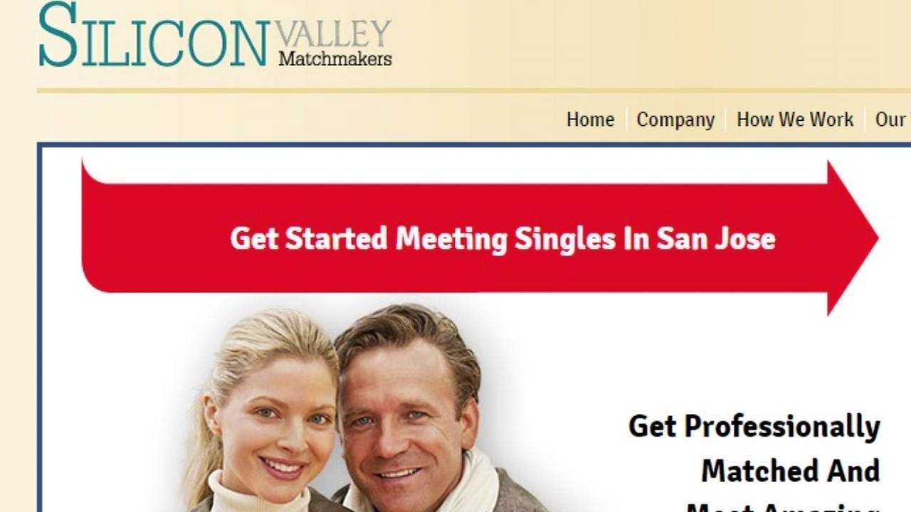 This is an undated image of the Silicon Valley Singles website.