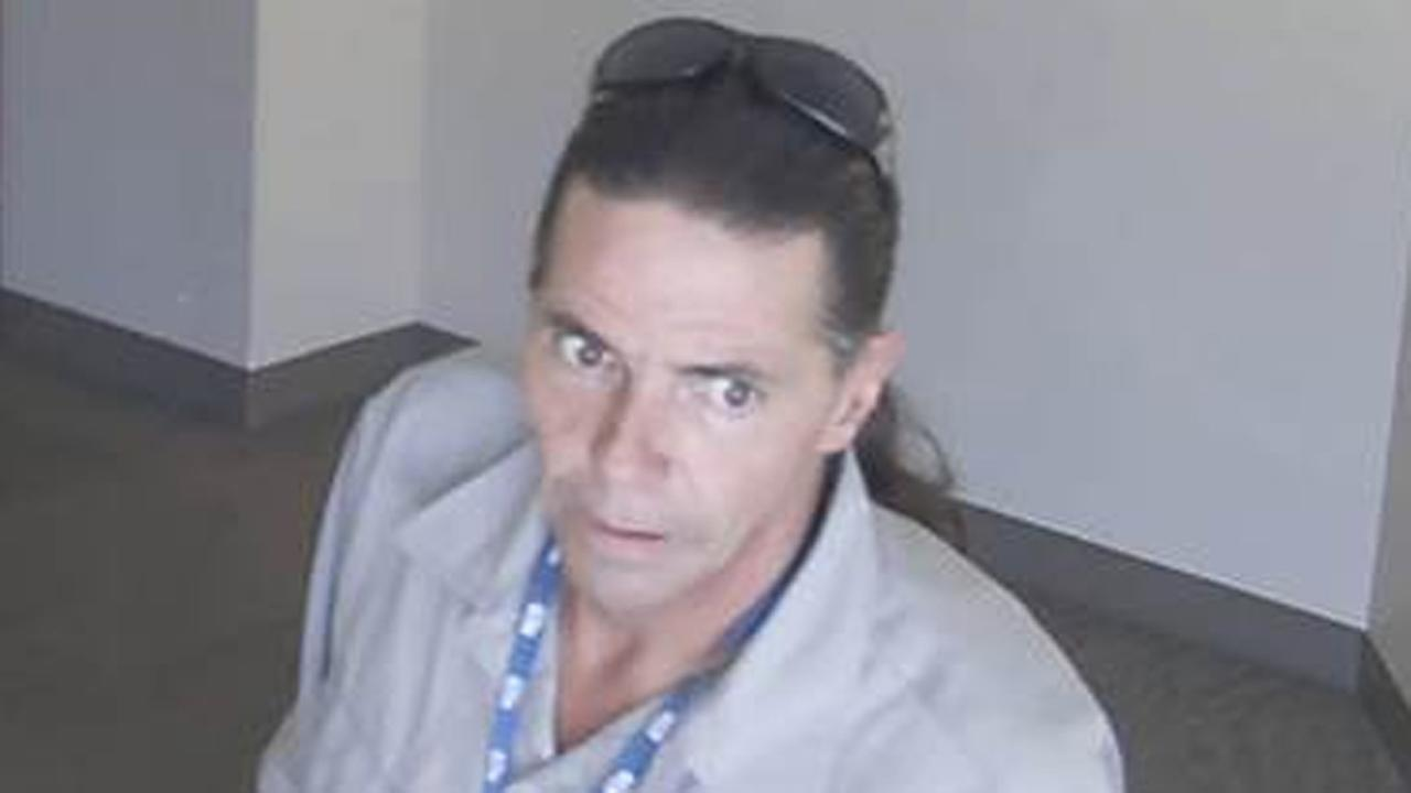 Suspect in a series of office burglaries in Burlingame, San Mateo and Palo Alto.