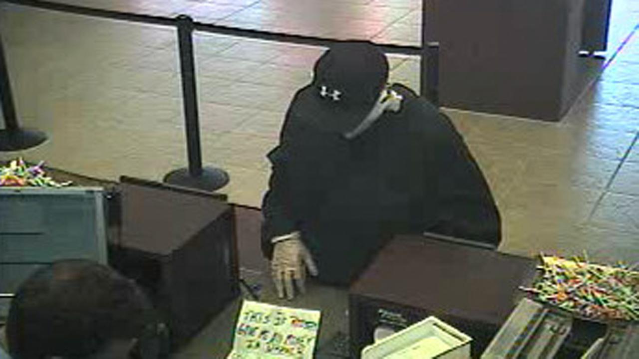 Walnut Creek bank robbery suspect.