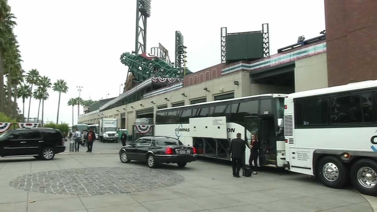 The San Francisco Giants are now in St. Louis, looking for more postseason glory.