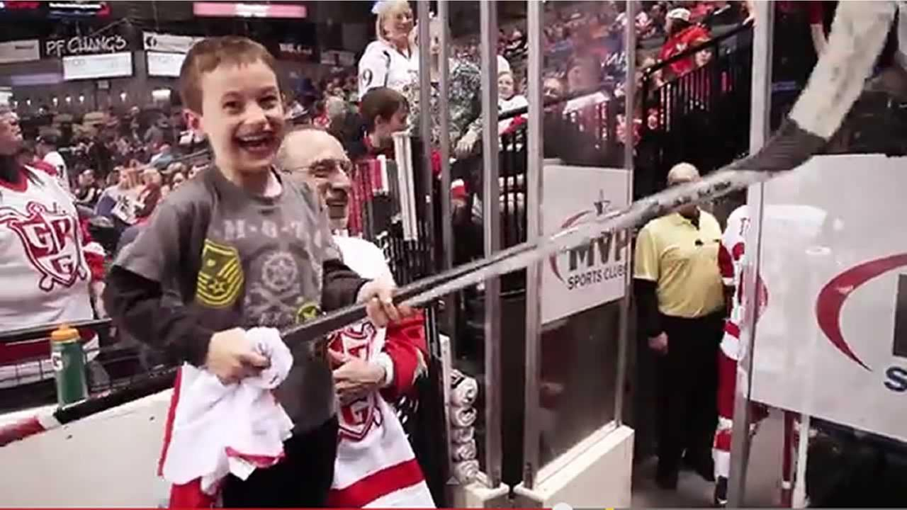 A little boy gets an unexpected gift - and his reaction is just perfect.