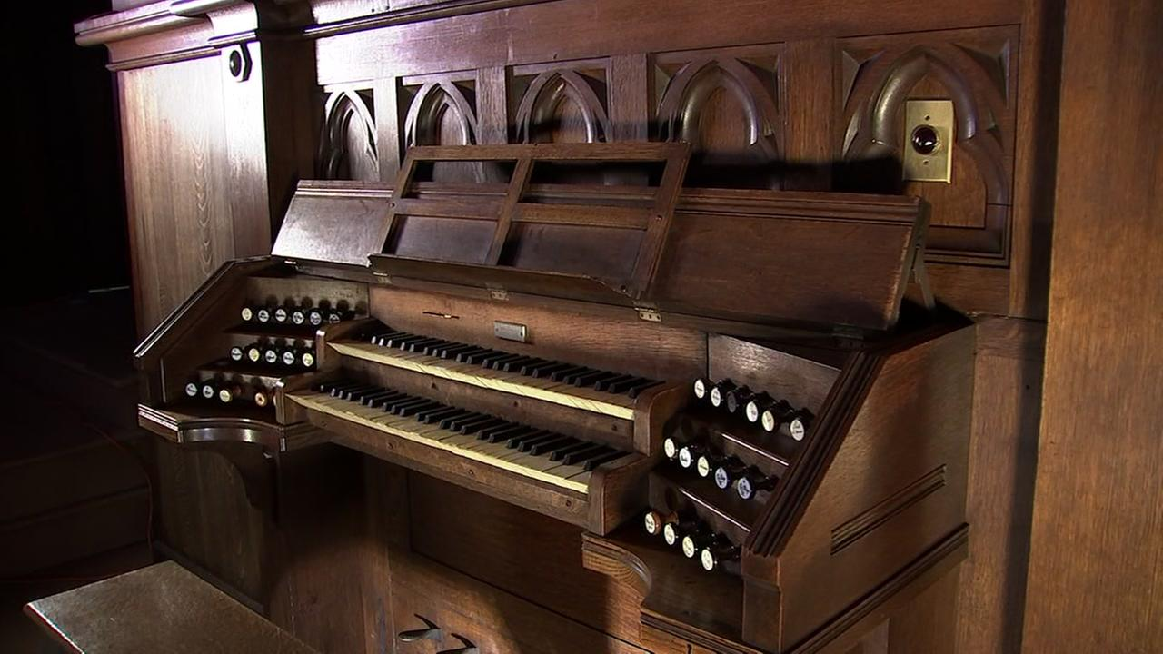 Californias oldest unaltered pipe organ turns 130 in San Francisco on Tuesday, May 8, 2018.