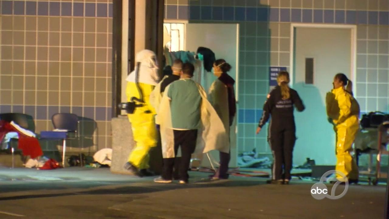Hazmat situation at Valley Medical Center in San Jose, California on Wednesday, May 9, 2018.